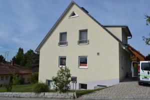 Fassadenarbeiten Privathaus Forchheim