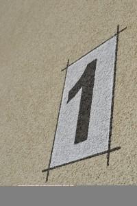 Fassade Hausnummer
